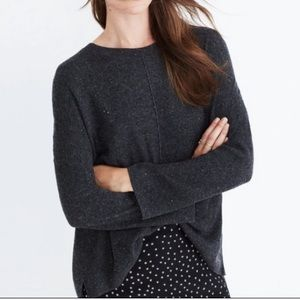 Madewell Northroad Pullover Sweater Wool Blend